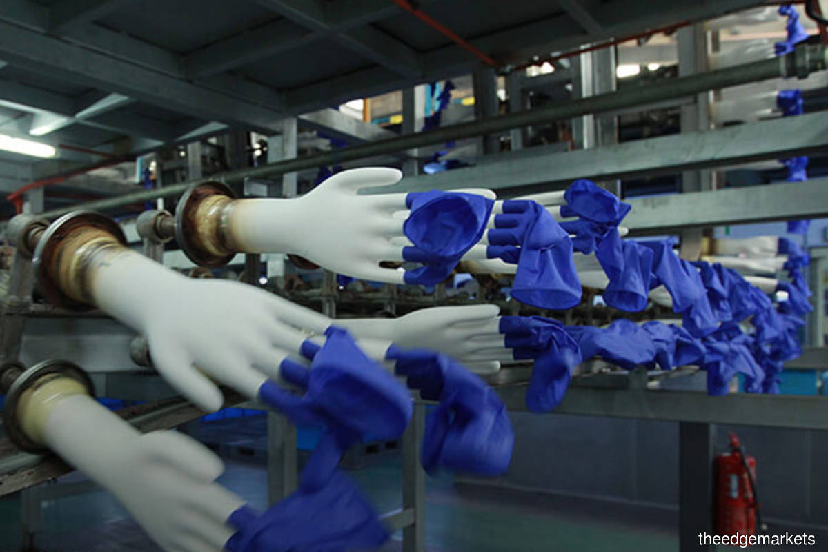 Glove shares fall after opening up as record high Covid-19 numbers drive sentiment
