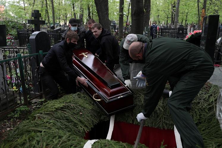 Russian Covid-19 cases above 200,000