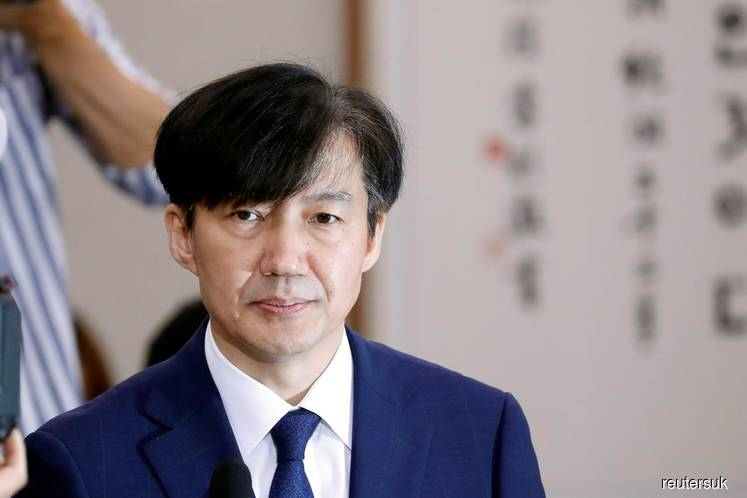 Embattled S.Korea justice minister resigns amid protests