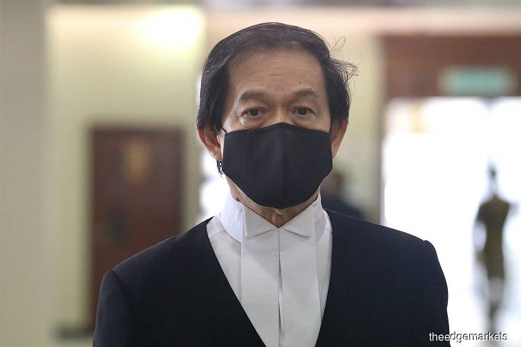 Goldman Sachs was represented by counsel Hisyam Teh Poh Teik. (Photo by Sam Fong/The Edge)