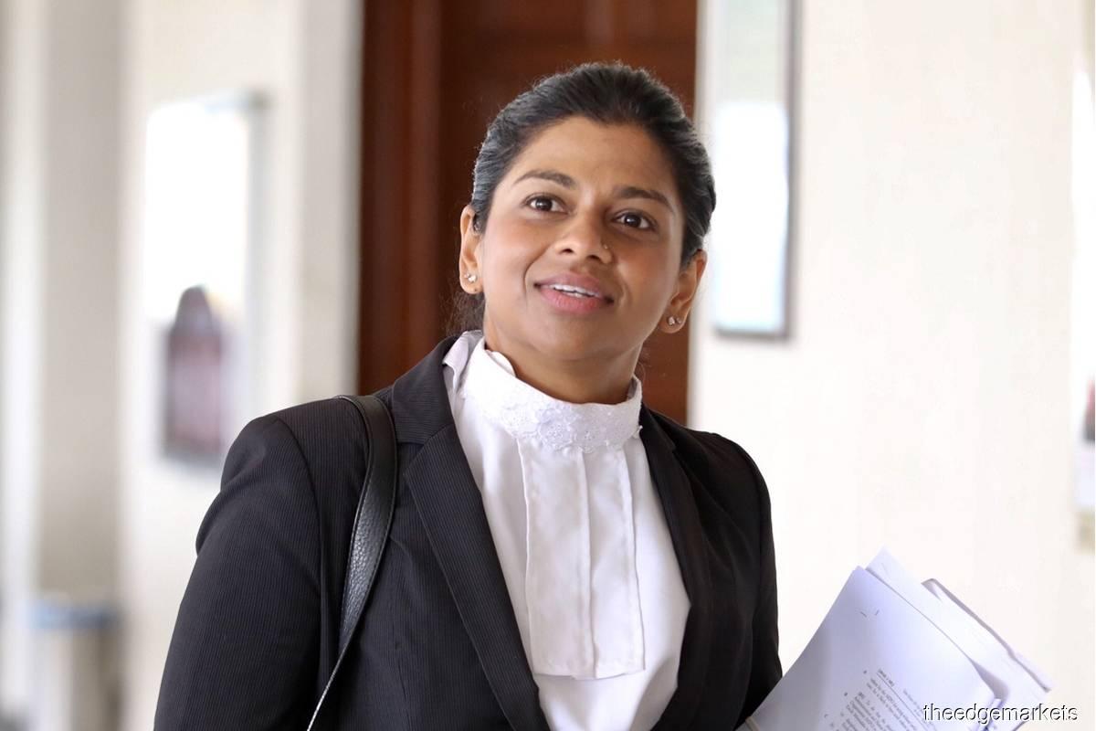 Mohd Isa's lawyer Lavinia Kumaraendran (Photo by Sam Fong/The Edge)