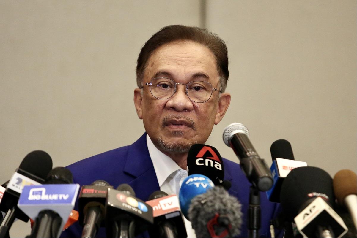 Datuk Seri Anwar Ibrahim (File photo by Sam Fong/The Edge)
