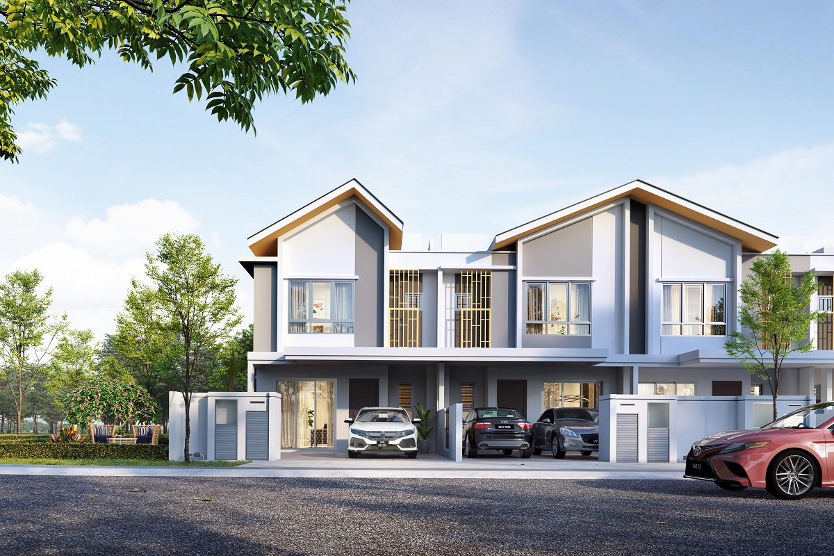 Acorus and Acorus 2 terrace units at Setia EcoHill 2, Semenyih, attracts home buyers with their flexible floorplans.
