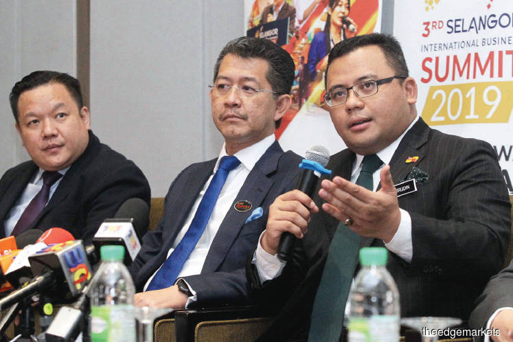 Selangor targets reduced investments of RM10b in 2019