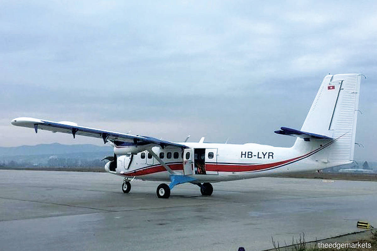 SKS Airways had taken delivery of its first aircraft, a 41-year-old  DHC-6-300 Twin Otter