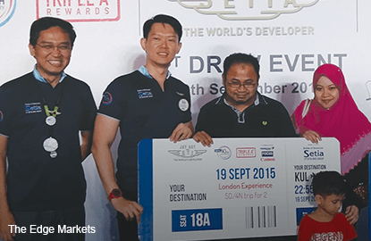 S P Setia's campaign unveils first winners