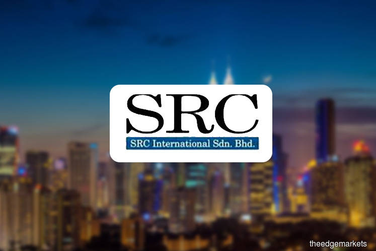 What are the allegations against Najib in the SRC trial?