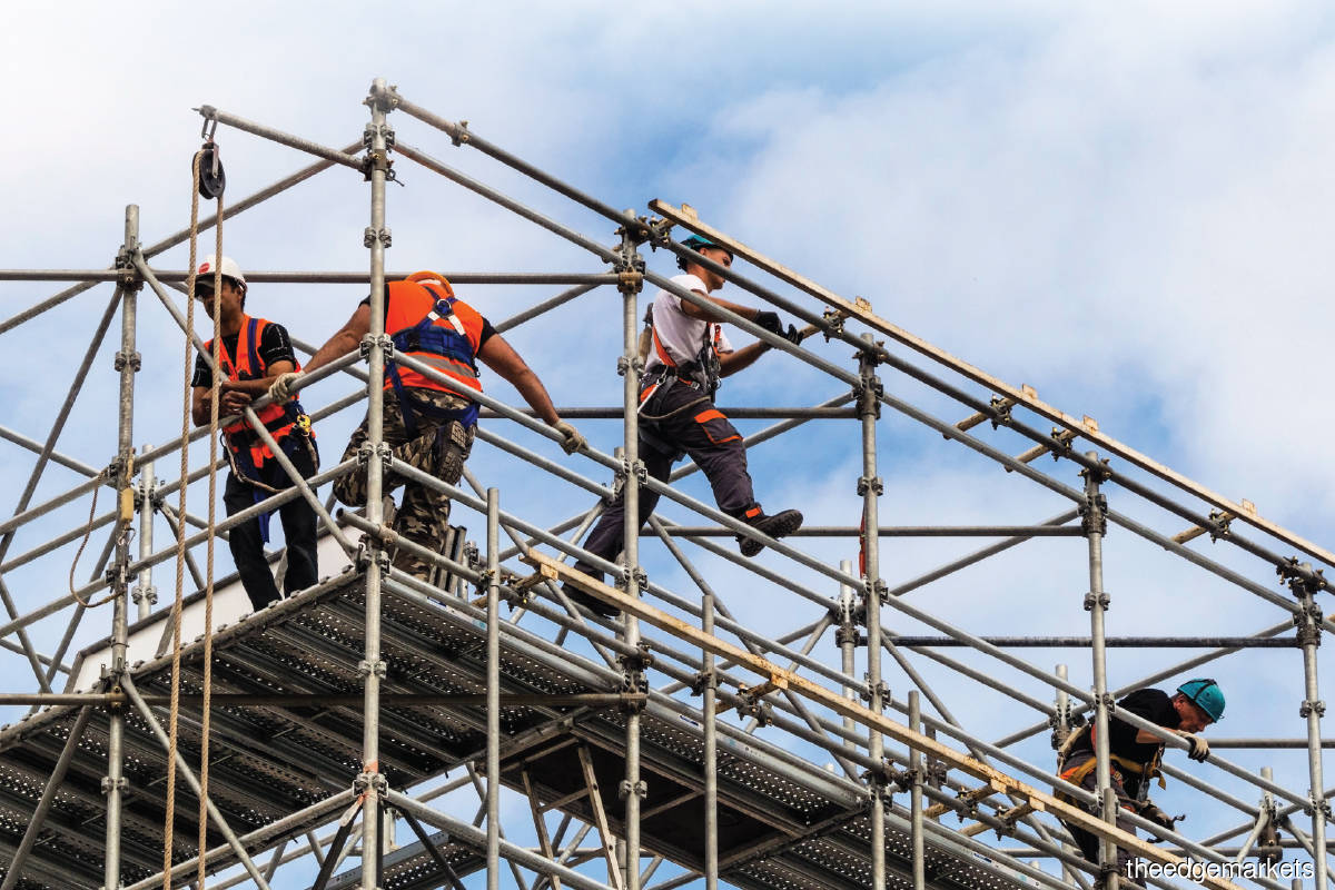 Extreme heat days will affect people who work outdoors, such  as construction workers