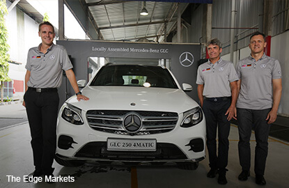 Mercedes Benz Malaysia expects its locally assembled SUVs to boost sales