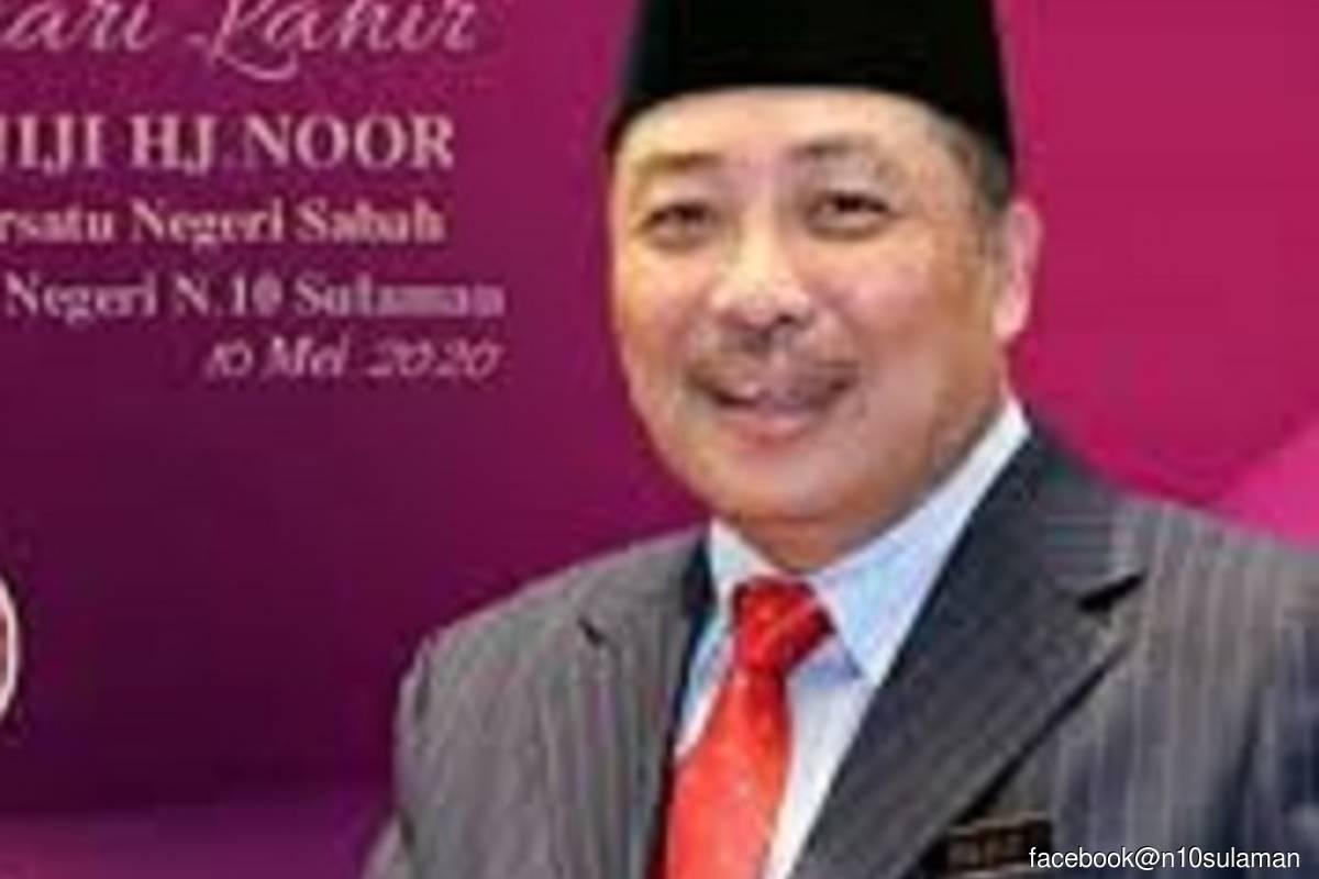 Sabah Chief Minister Datuk Hajiji Noor