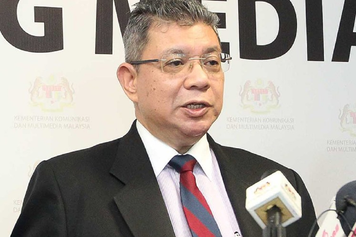 Saifuddin: I am not saying we do not want to implement 5G, just that we are reviewing the positions of 3G and 5G.