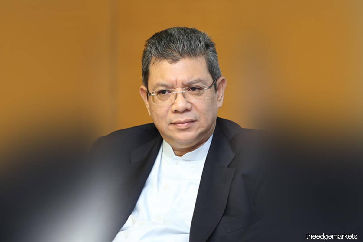 Foreign Minister Datuk Saifuddin Abdullah (The Edge filepix)