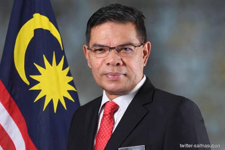 China-US trade war has not affected Malaysia's trade pacts – Saifuddin