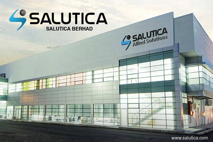 Salutica rises 3.39% on positive technical outlook