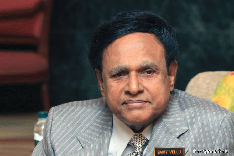 Suit against Samy Vellu meant to protect his interest, says son