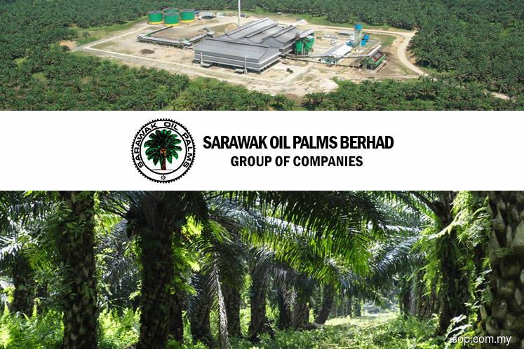 Sarawak Oil Palms 1Q net profit plunges 68% on lower revenue