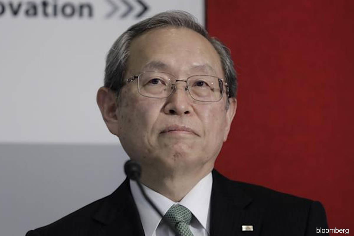 Toshiba chairman returns as officer to deal with Effissimo