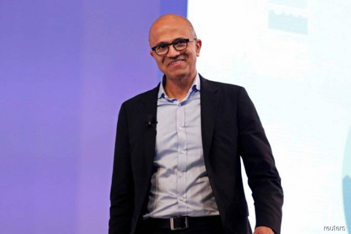 Microsoft names CEO Satya Nadella as chairman