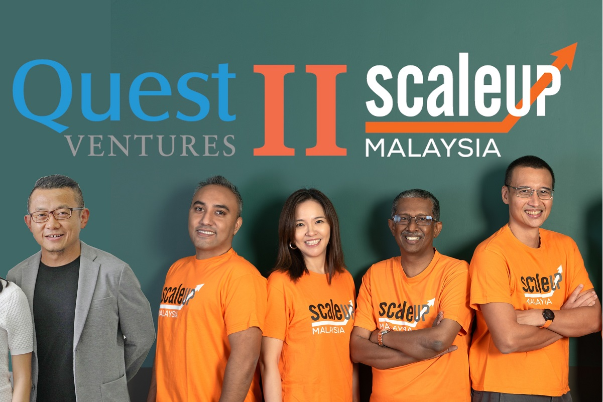 Quest Ventures together with ScaleUp Malaysia partners at the ScaleUp Malaysia Cohort 2 Launch and partnership announcement