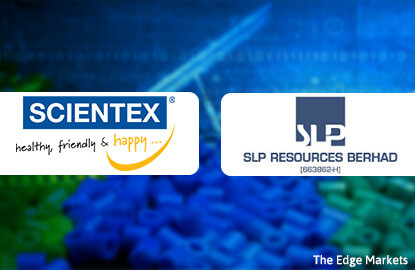 Scientex, SLP Resources advance after sector upgrade by Kenanga IB Research