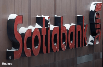 The Bank of Nova Scotia for sale?