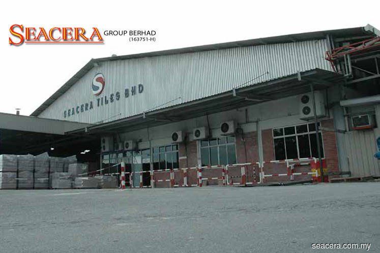 Seacera falls 2.50% after getting winding up statutory notice for RM15.53m