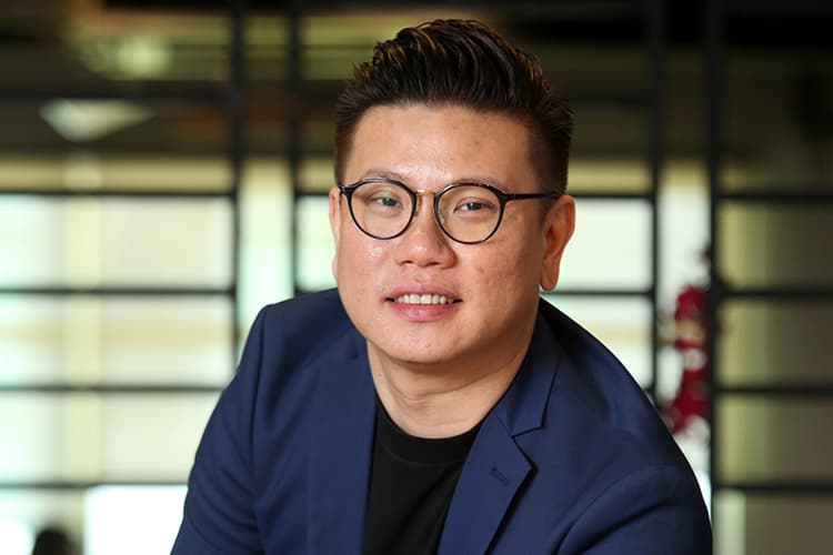 Sean Teoh, founder and CEO of Monster Alliance Bhd (MOPress) (Pic taken by Sam, March 4, 2020)