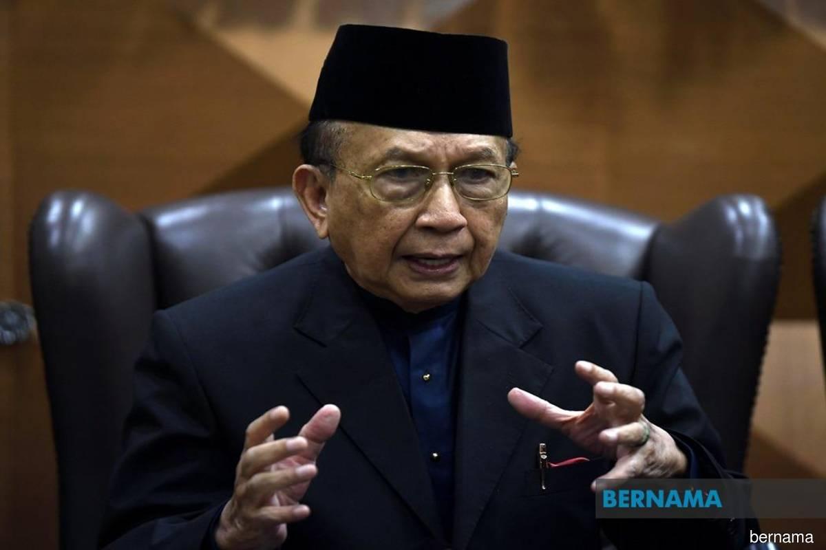 Senate president Tan Sri Dr Rais Yatim (Bernama filepix)