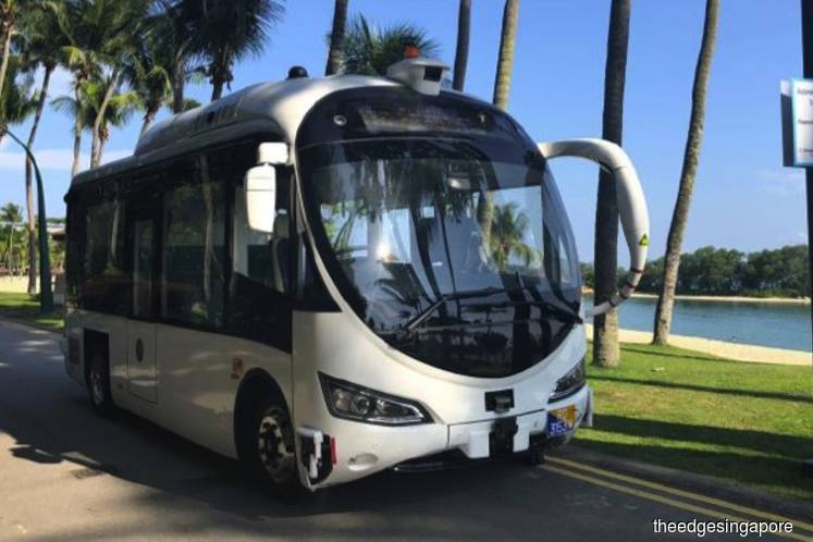 Singapore's first on-demand autonomous shuttle trial at Sentosa opens to public