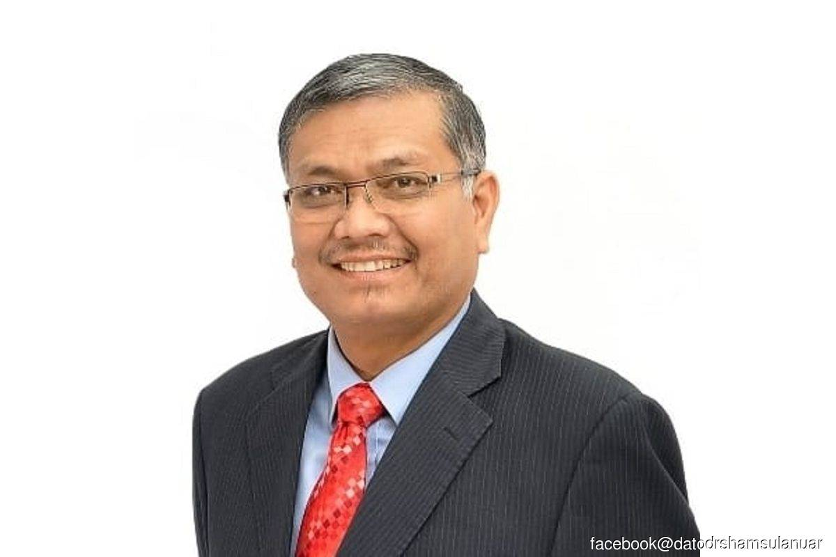 Shamsul Anuar resigns as energy and natural resources minister