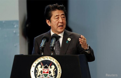 Japan considers buying more U.S. energy as Abe prepares to meet Trump