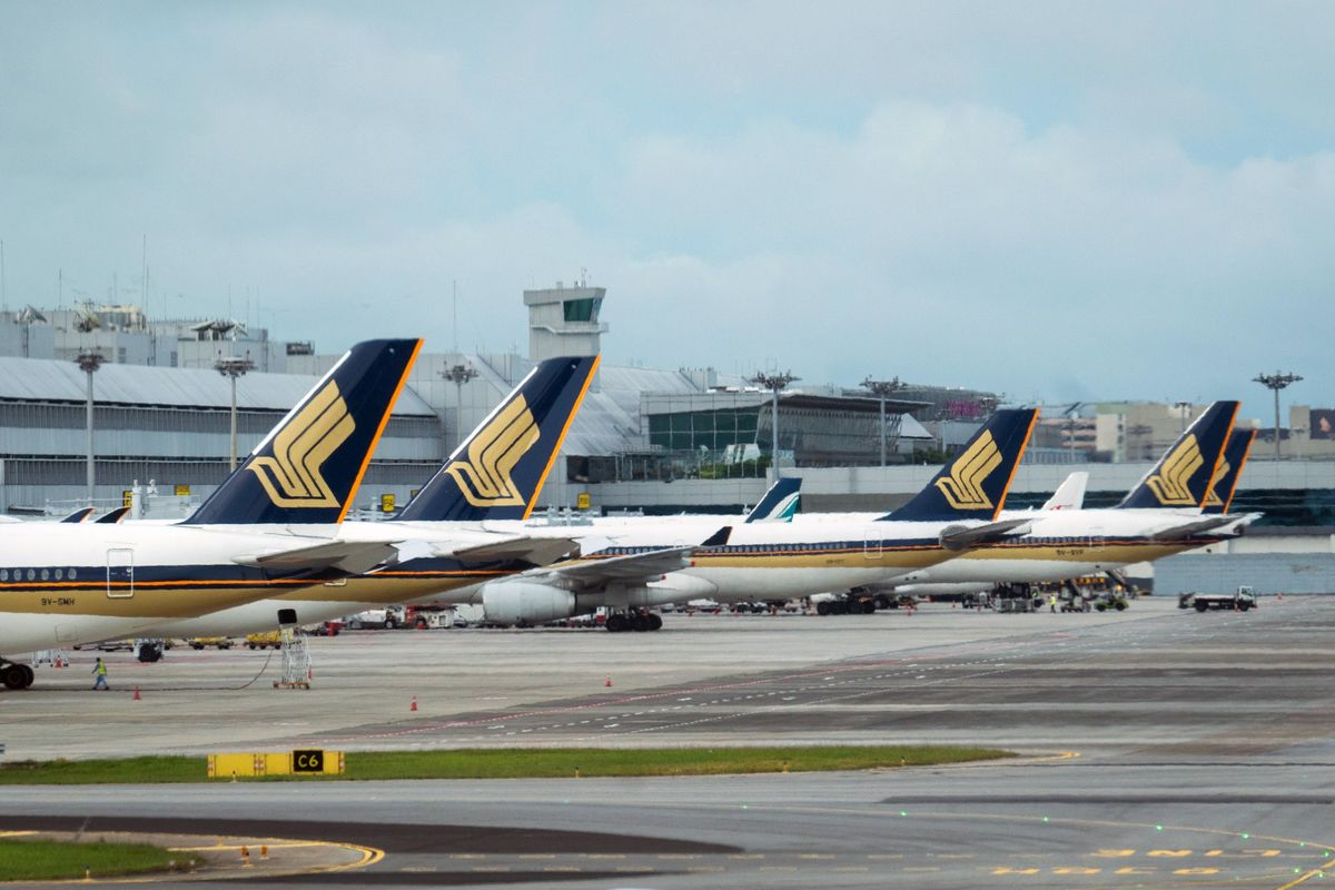 SIA grounds most planes; sees significant dip in passenger revenues