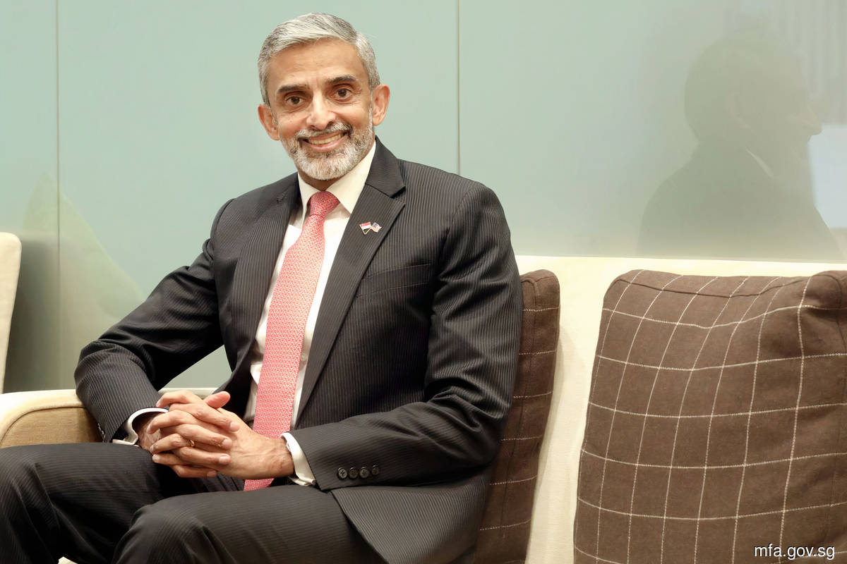 Vanu Gopala Menon is Singapore's High Commissioner to Malaysia