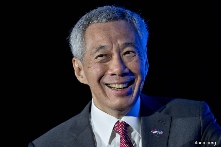 Singapore 'lucky' if growth is positive in 2019, PM Lee says