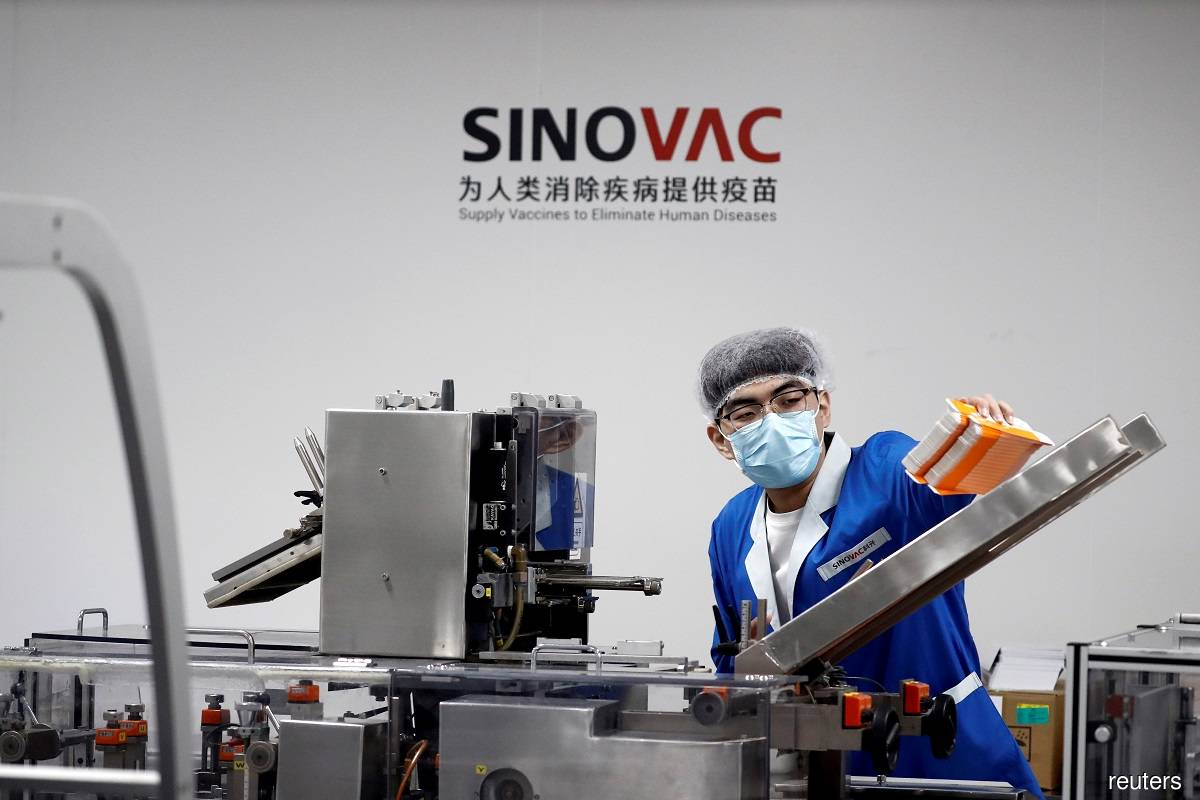 Philippines targets deal for 25 million doses of Sinovac's Covid-19 vaccine