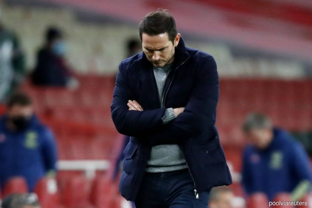 Lampard rips into 'lazy' Chelsea after Arsenal defeat
