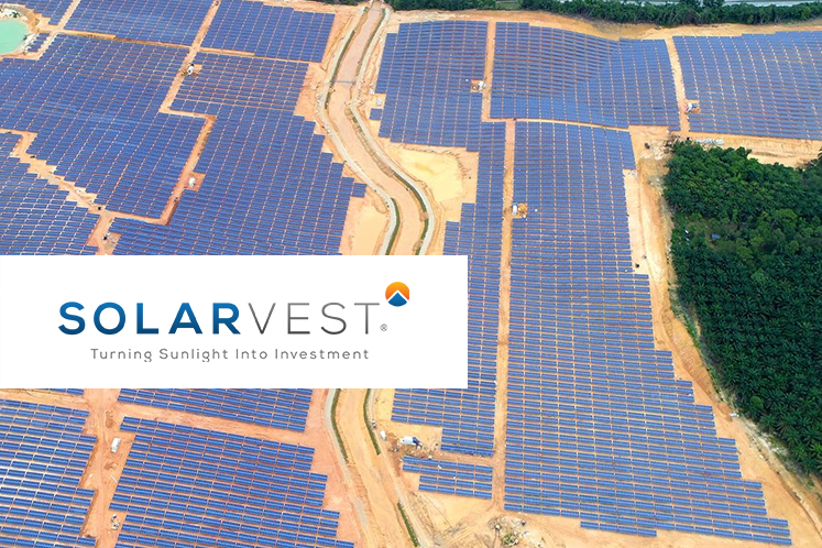 Solarvest up, company says investors' interest due to CEO's Bursa session