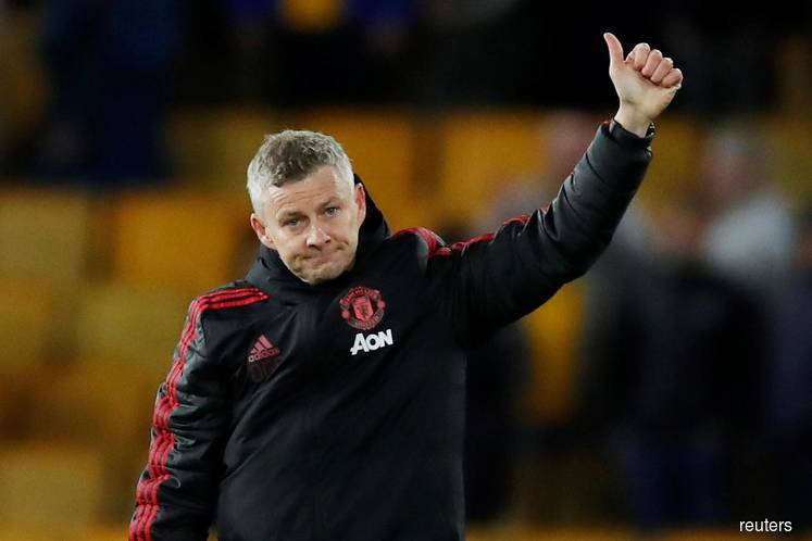 Solskjaer berates Man Utd for 'worst' half of the season in derby loss