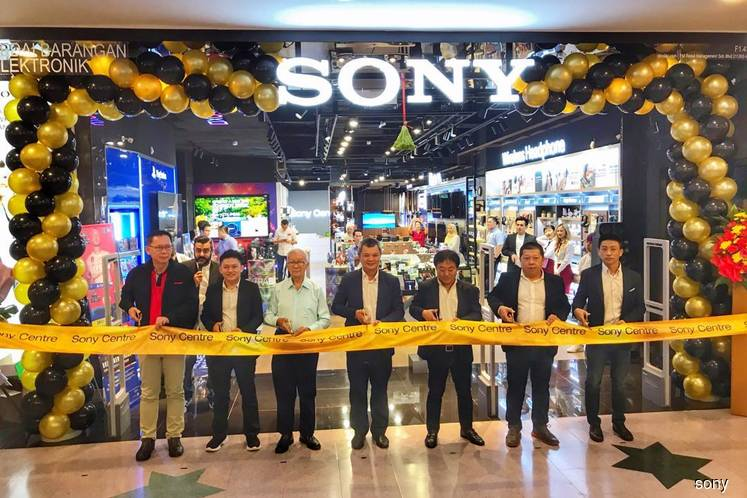 First Sony Centre with lounge opens in Sunway Pyramid