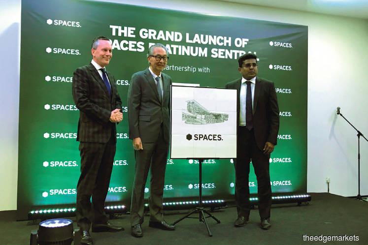 IWG opens first Spaces in Kuala Lumpur