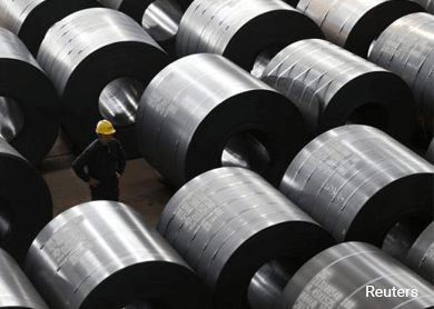 Steel counters rebound after China inventory shrinks