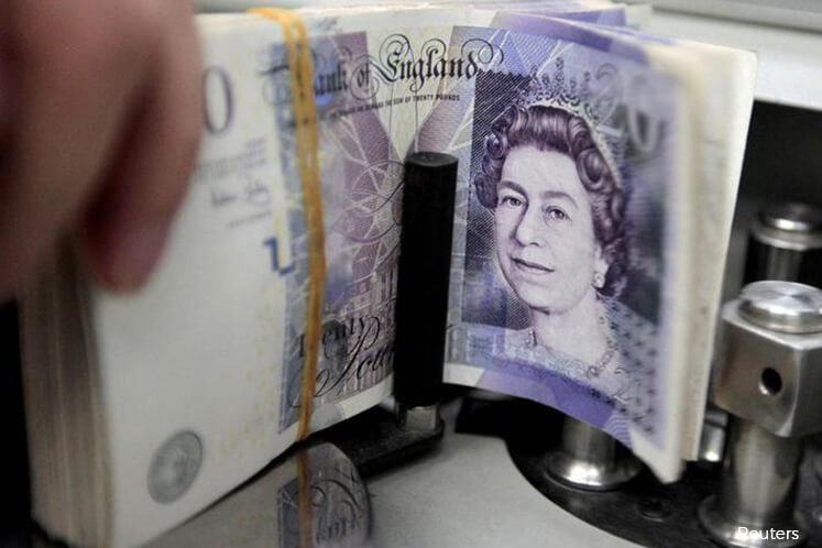 Sterling hits 2-week peak on smooth Brexit hopes; Asian shares seen jittery