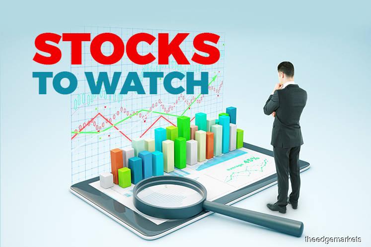 Stocks to Watch — Velesto, Frontken, Hartalega, Dufu Technology