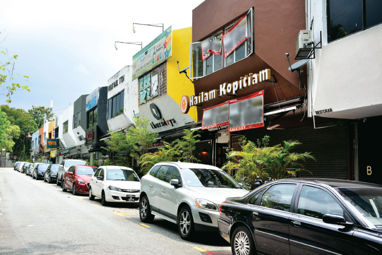 Streetscapes: A tranquil, leafy street within popular TTDI