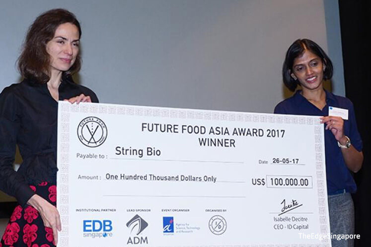 Feed ingredient maker String Bio wins US$100,000 at the Future Food Asia Award