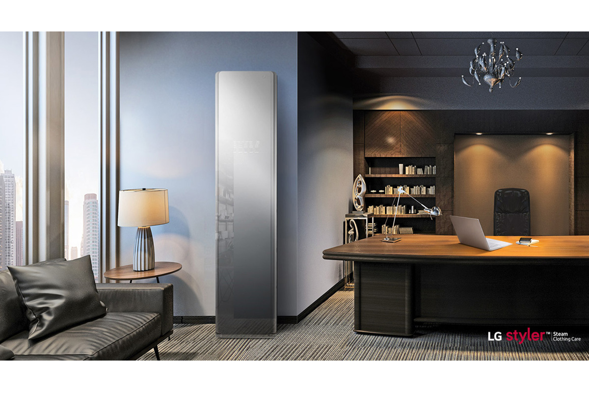 Smart wardrobe LG Styler is tailor-made for a hygiene-conscious lifestyle