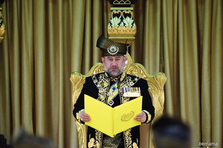 Agong consents to Art Harun's appointment as EC chairman