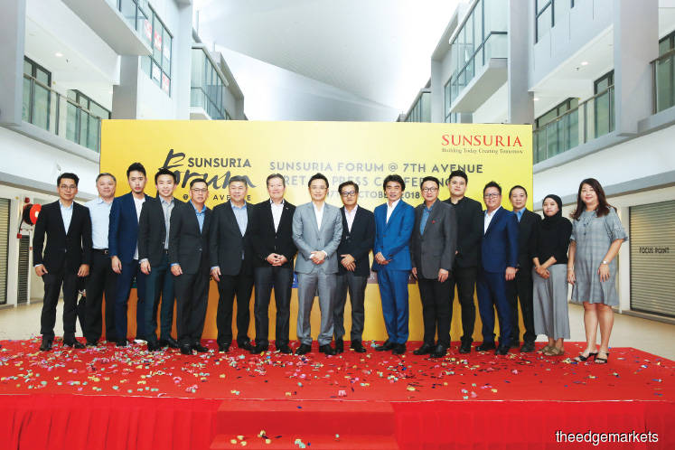 Sunsuria Forum's street mall in Setia Alam set to open by 1Q19