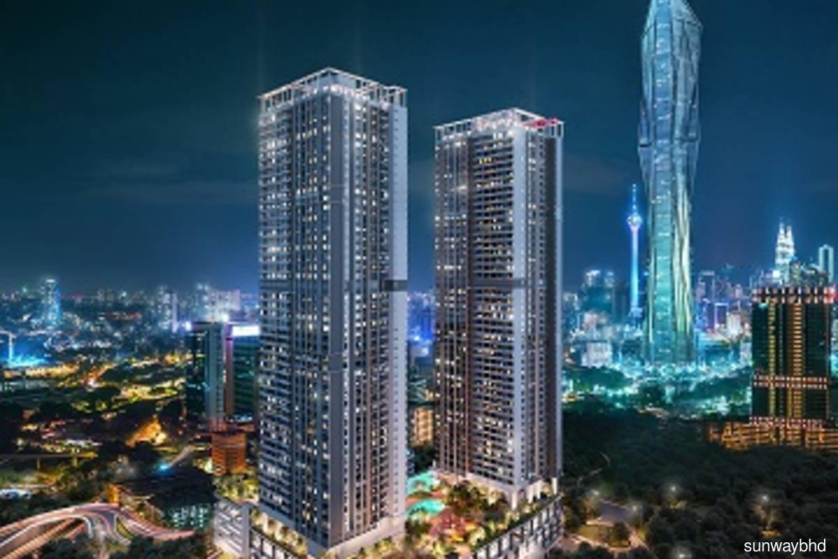 Artist impression of Sunway Belfield in Kuala Lumpur city centre. (Photo credit: Sunway Bhd)