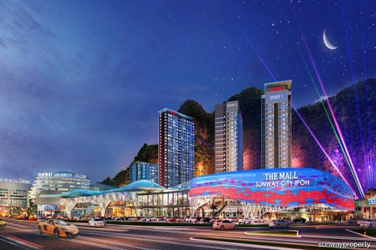 Sunway Onsen Suites is part of the 1350-acre Sunway City Ipoh township